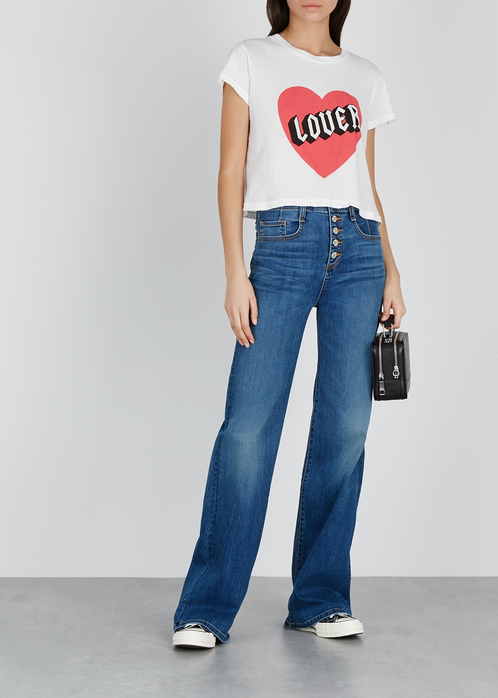 Lover Baby printed jersey T-shirt - Wildfox