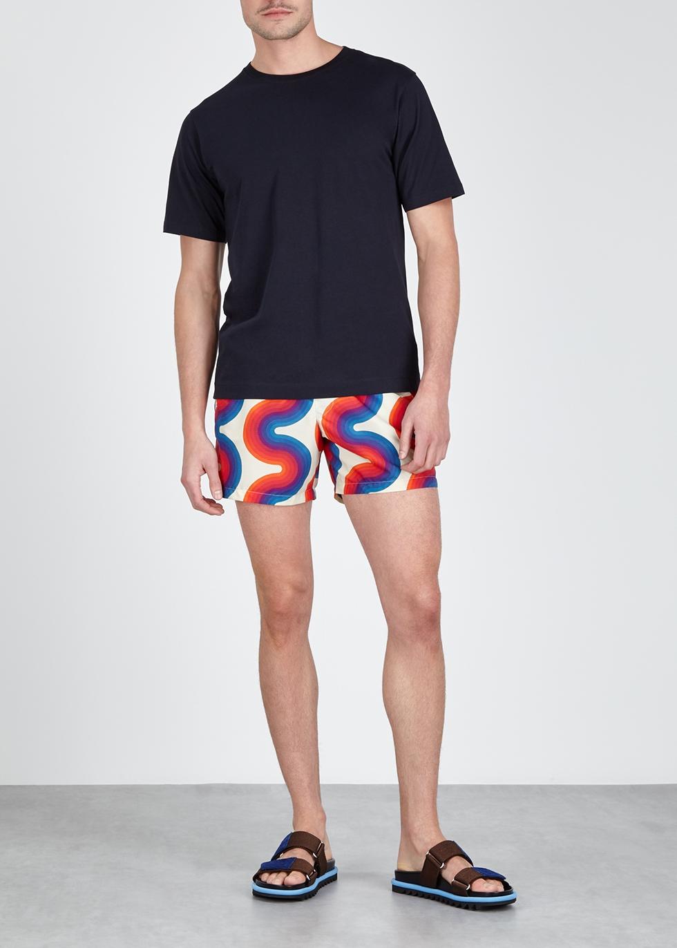 30f9a18fe9 Dries Van Noten X Verner Panton Phibbs printed swim shorts - Harvey Nichols