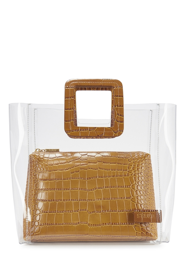 Shirley medium crocodile-effect top handle bag ...