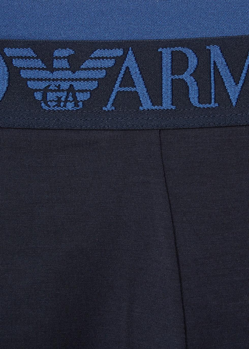 Iconic stretch-modal boxer briefs - Emporio Armani