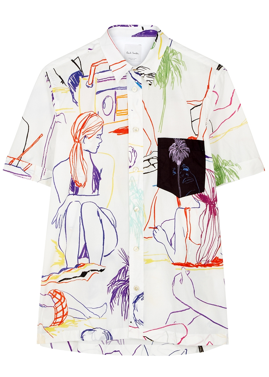 6758fdc727cab7 Men s Designer Short-Sleeved Shirts - Harvey Nichols