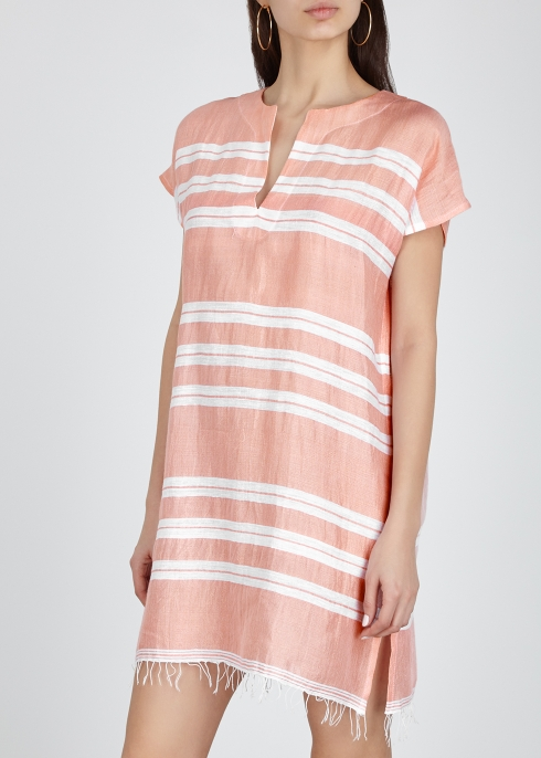 519e6ef54b71 Lemlem Doro striped cotton-blend dress - Harvey Nichols