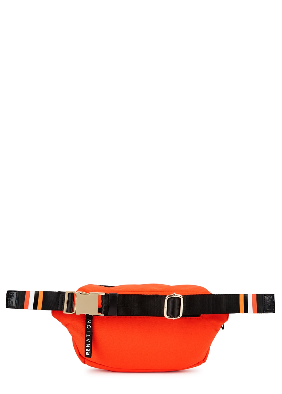 Sonic Boom red canvas belt bag - P.E Nation
