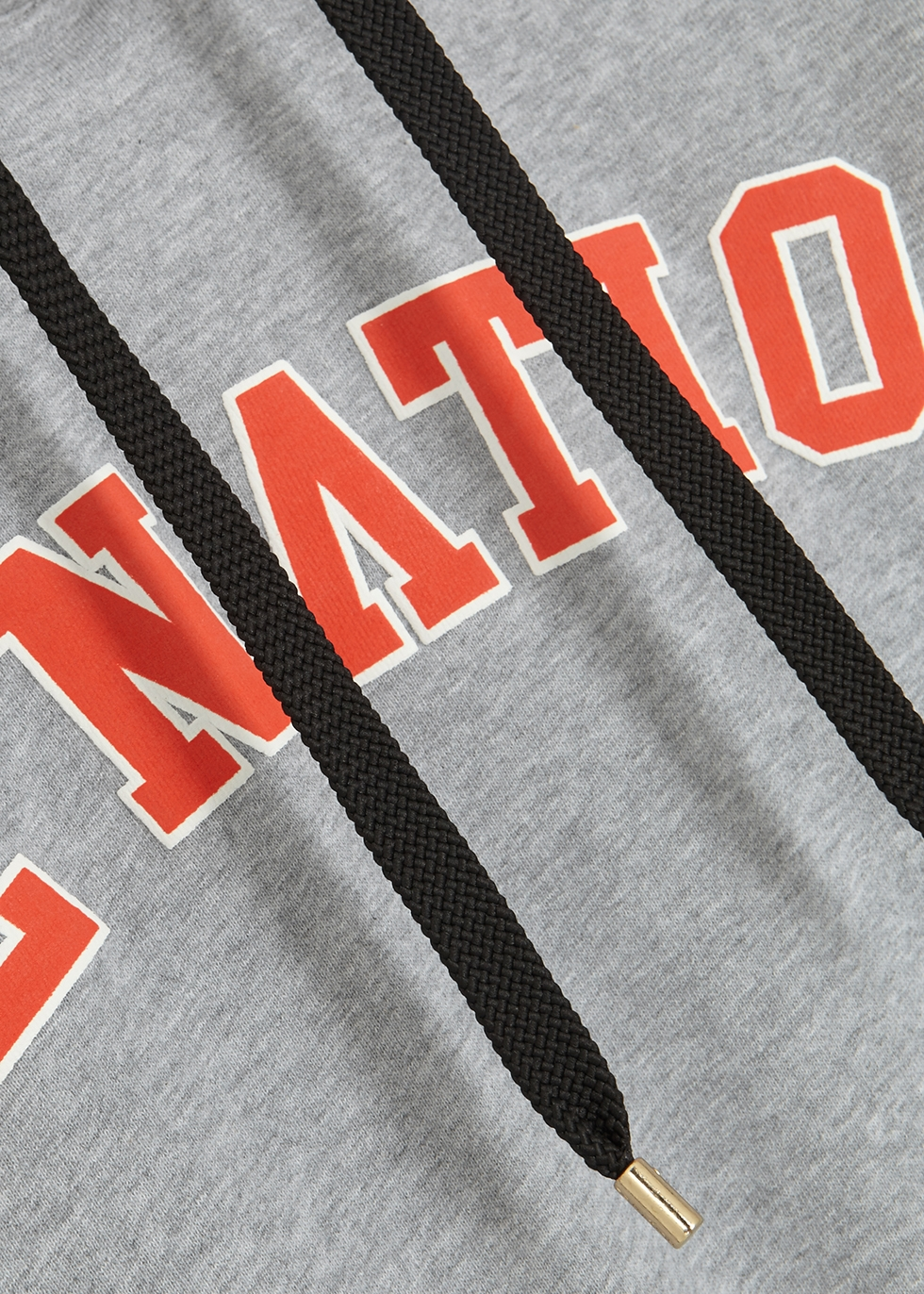Squad grey cotton-jersey sweatshirt - P.E Nation
