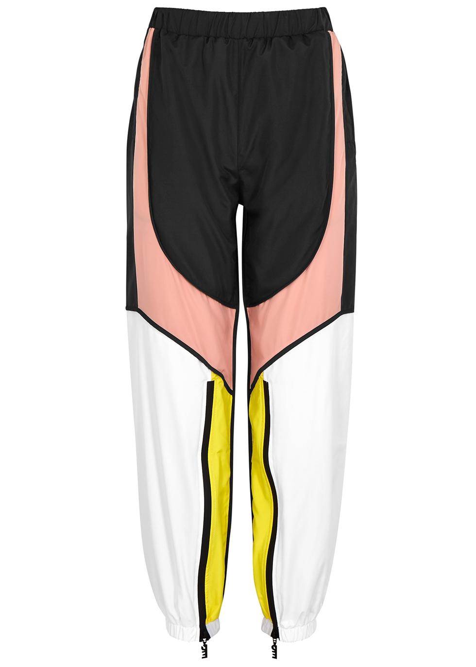Runout colour-block shell sweatpants - P.E Nation