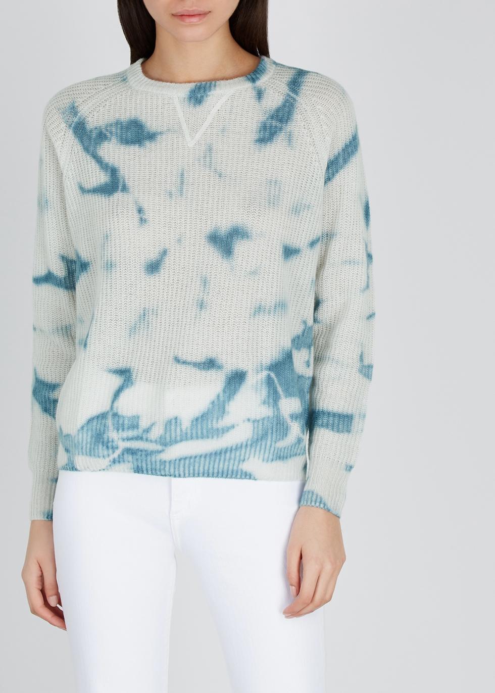 Tie-dye cashmere jumper - LINE