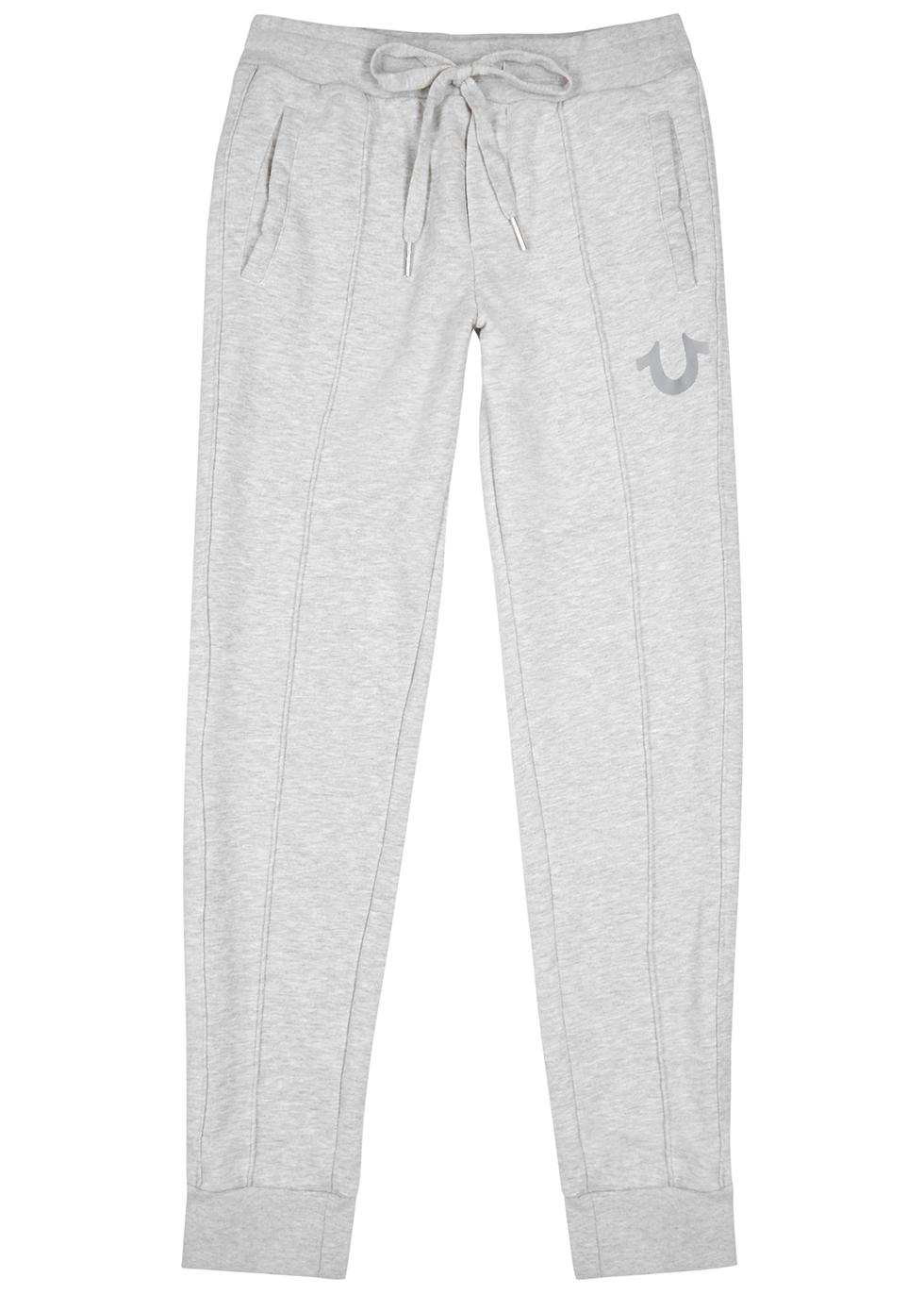 Grey cotton-blend sweatpants - True Religion