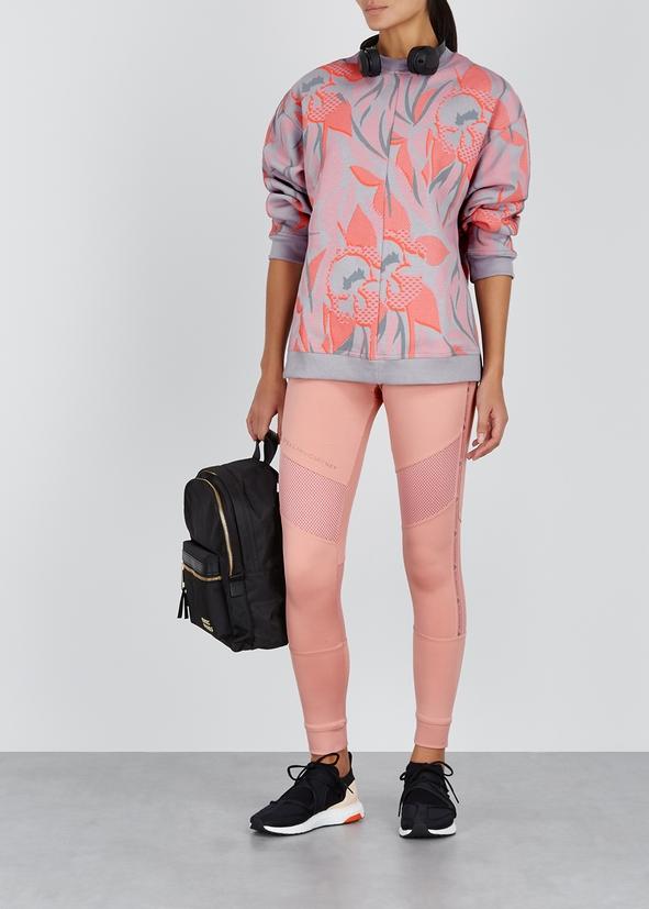 58b46877636 Printed cotton-blend sweatshirt Printed cotton-blend sweatshirt. New  Season. adidas X Stella McCartney