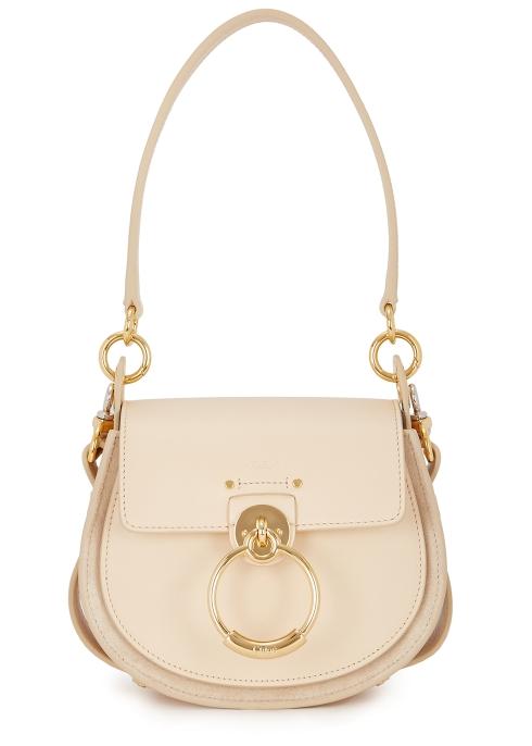 2cb033adf5ad6 Chloé Tess small almond leather shoulder bag - Harvey Nichols