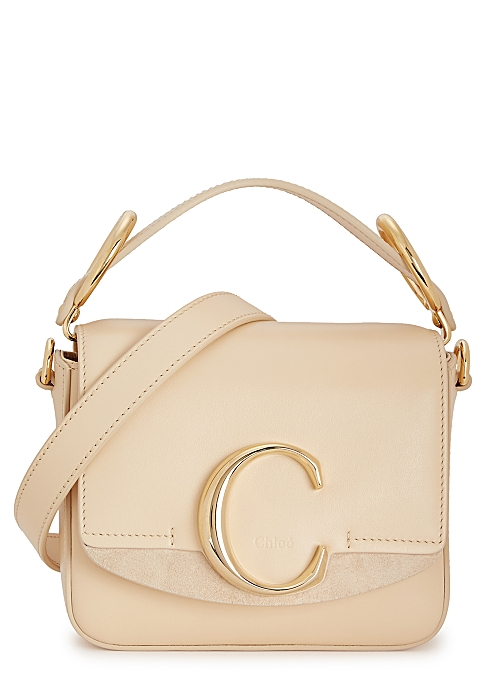 a514a1d39f Chloé Chloé C mini leather cross-body bag - Harvey Nichols