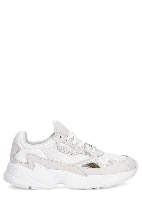 fc6ea7cb8a6 adidas Originals Falcon off-white panelled trainers - Harvey Nichols