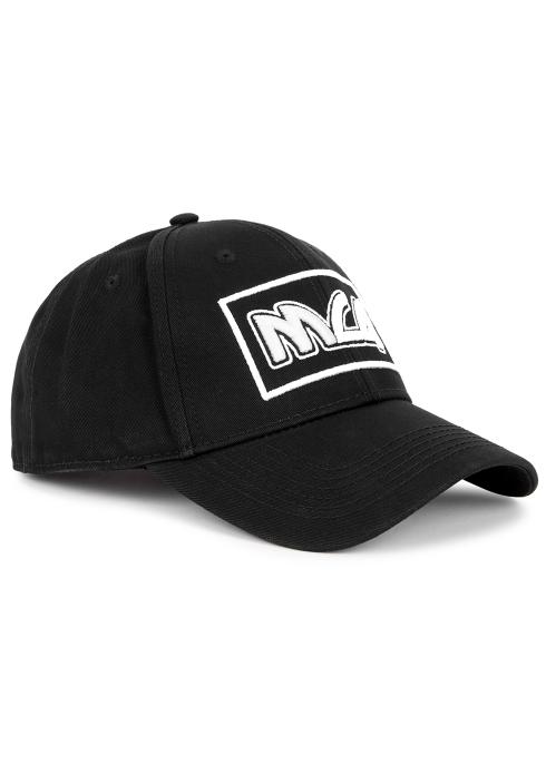 McQ Alexander McQueen Black baseball cap - Harvey Nichols e0d31e4f2eb2
