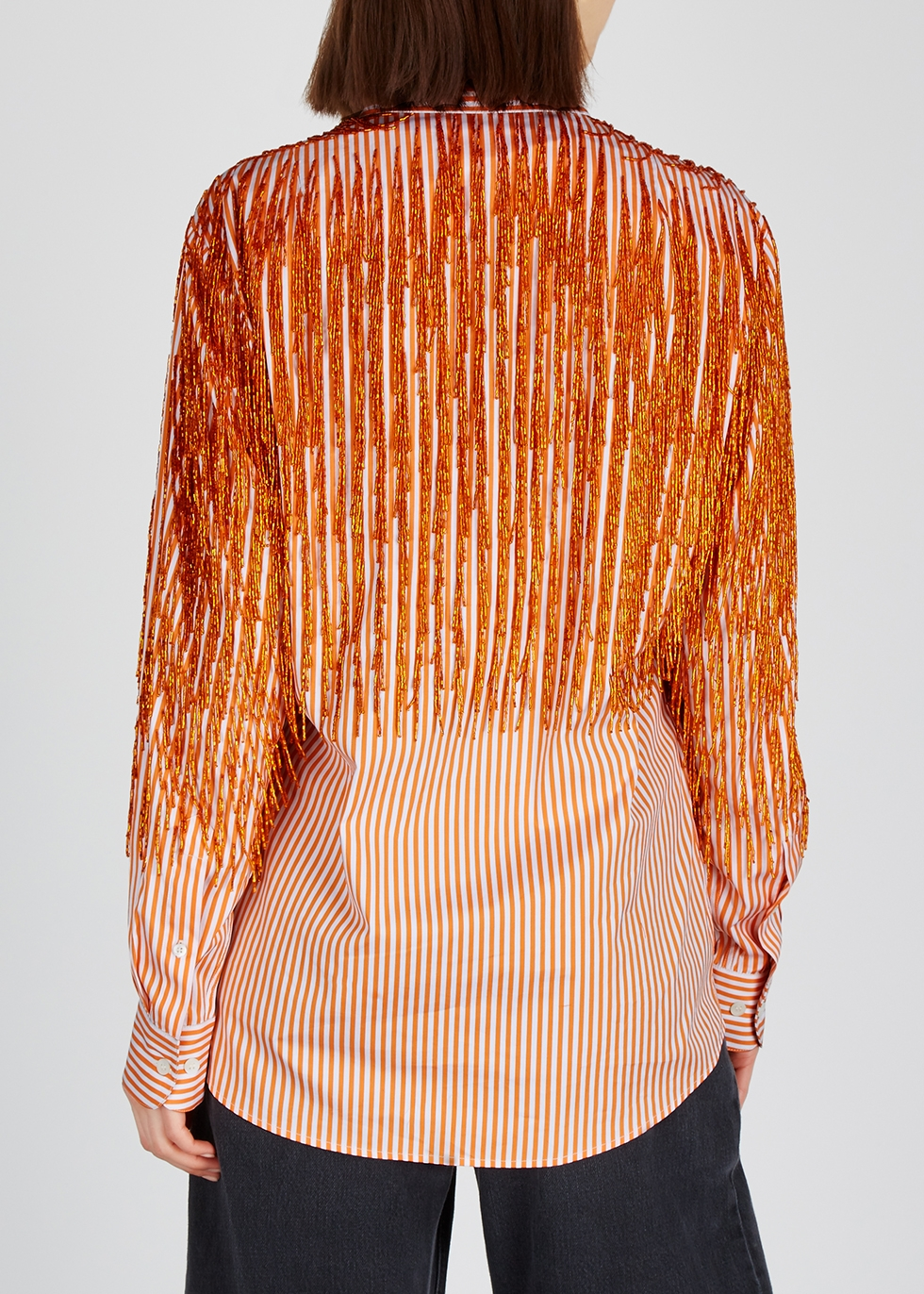Clavelly striped cotton shirt - Dries Van Noten