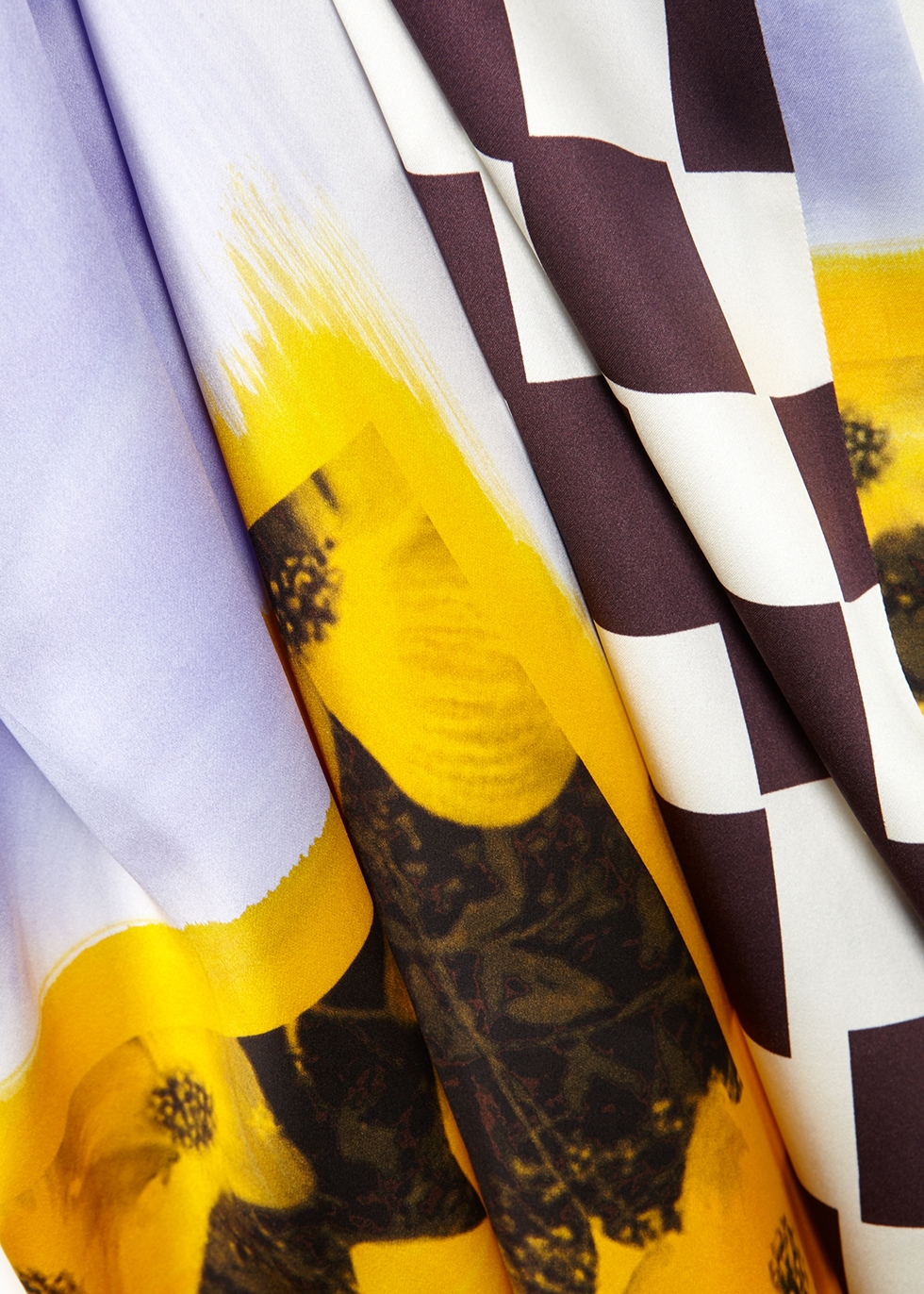 Diala printed silk midi dress - Dries Van Noten