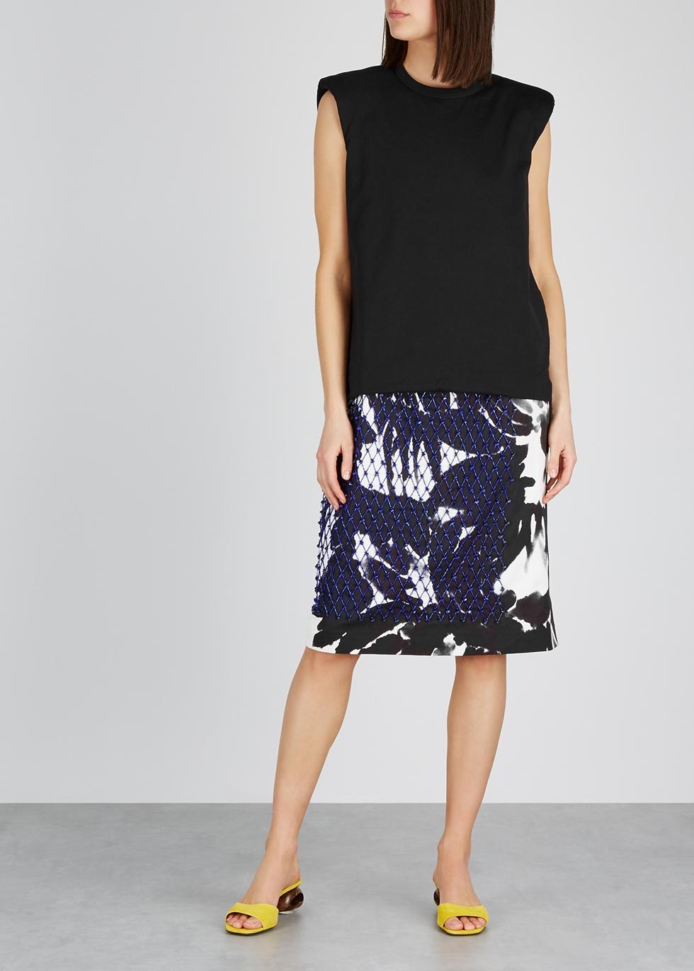 Dixi embellished cotton midi dress - Dries Van Noten