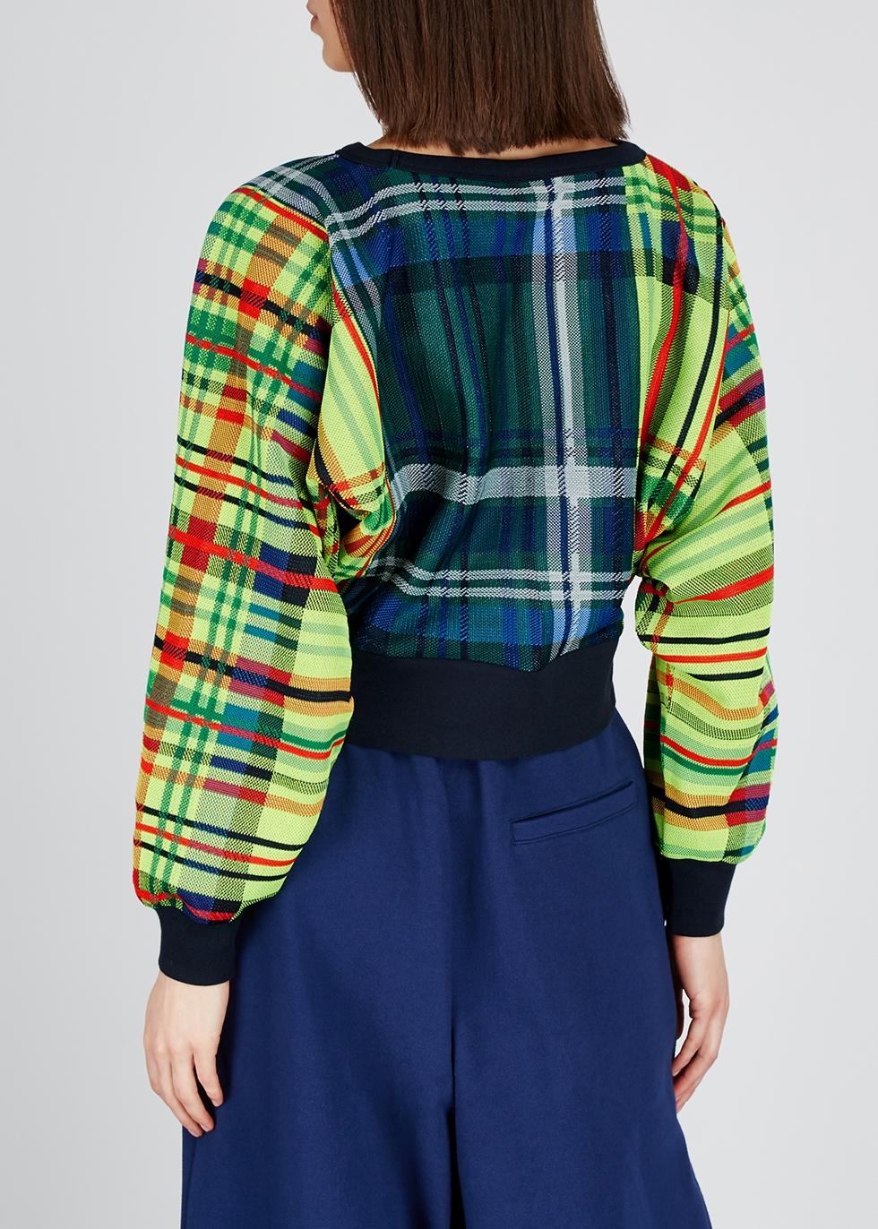 Heletta plaid jumper - Dries Van Noten