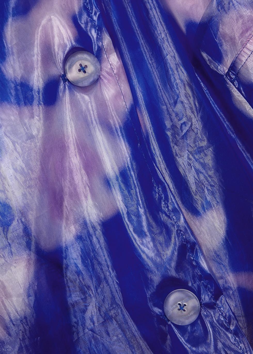 Reader floral-print organza coat - Dries Van Noten