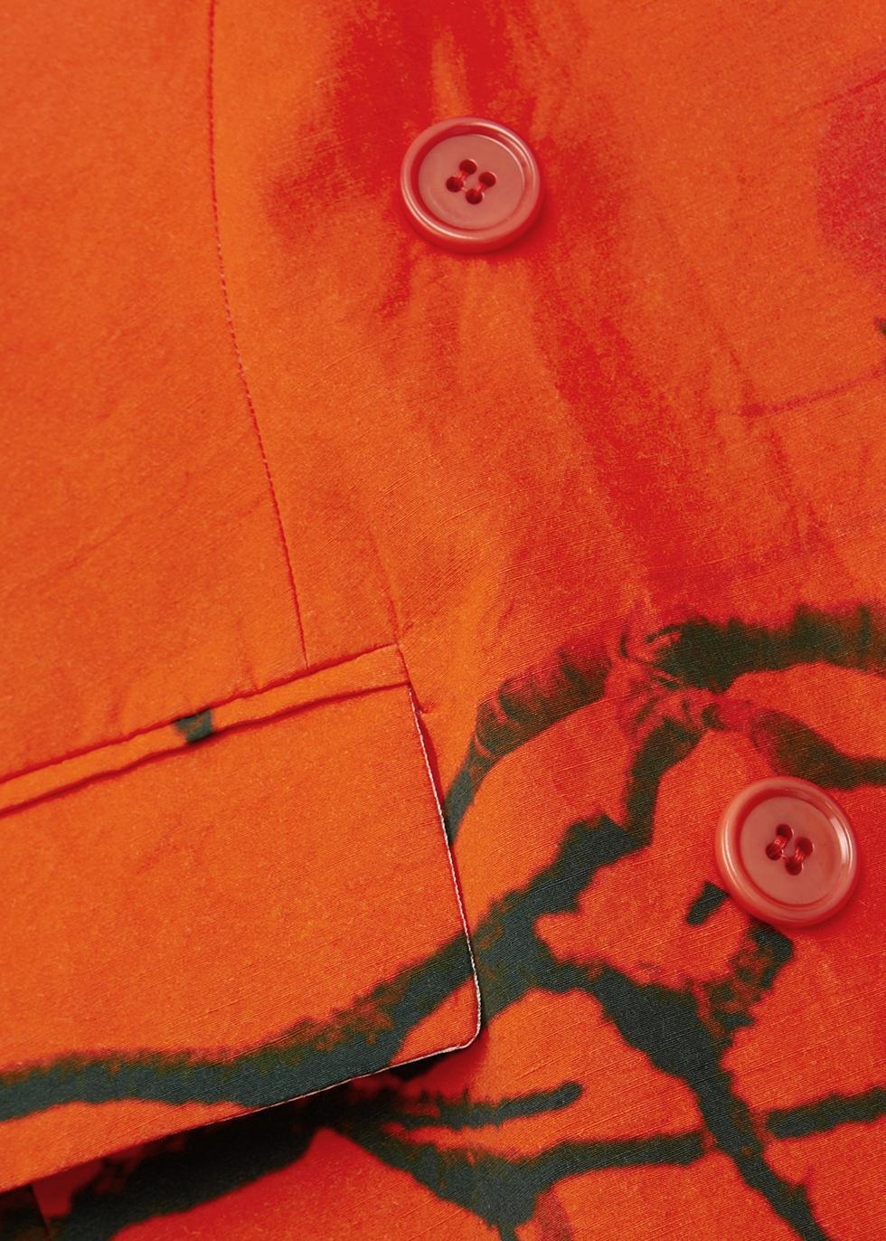 Rutrio printed cotton-blend jacket - Dries Van Noten