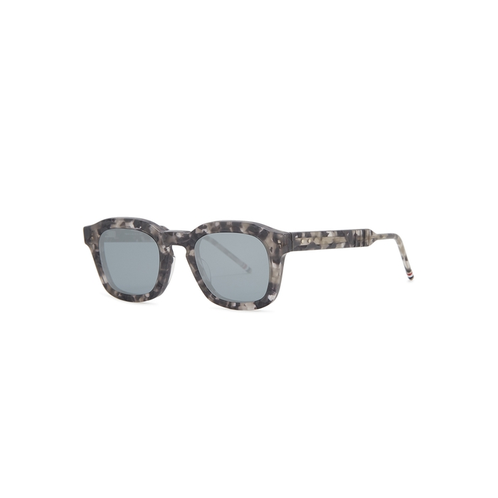 Thom Browne Tortoiseshell Wayfarer-style Sunglasses