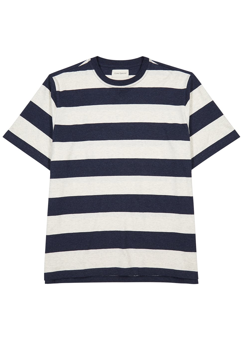 Striped cotton T-shirt - Oliver Spencer