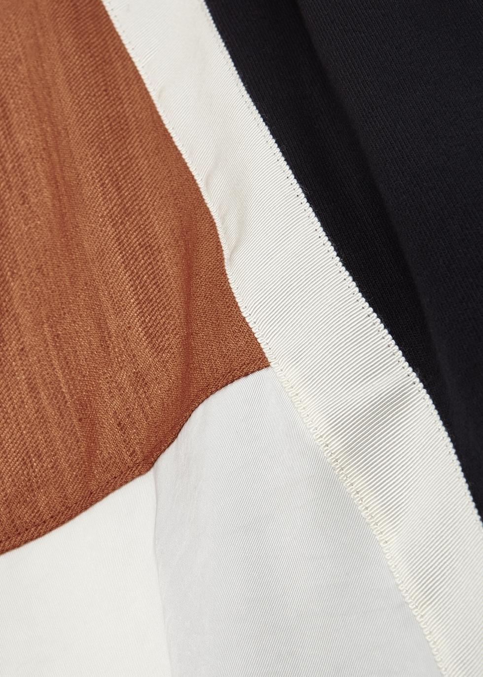 Mondrian navy cotton T-shirt - Clu