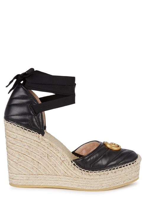 436b3096a Gucci Palmira 155 espadrille wedge sandals - Harvey Nichols