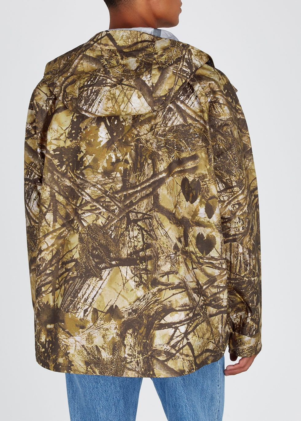Printed cotton jacket - South2 West8