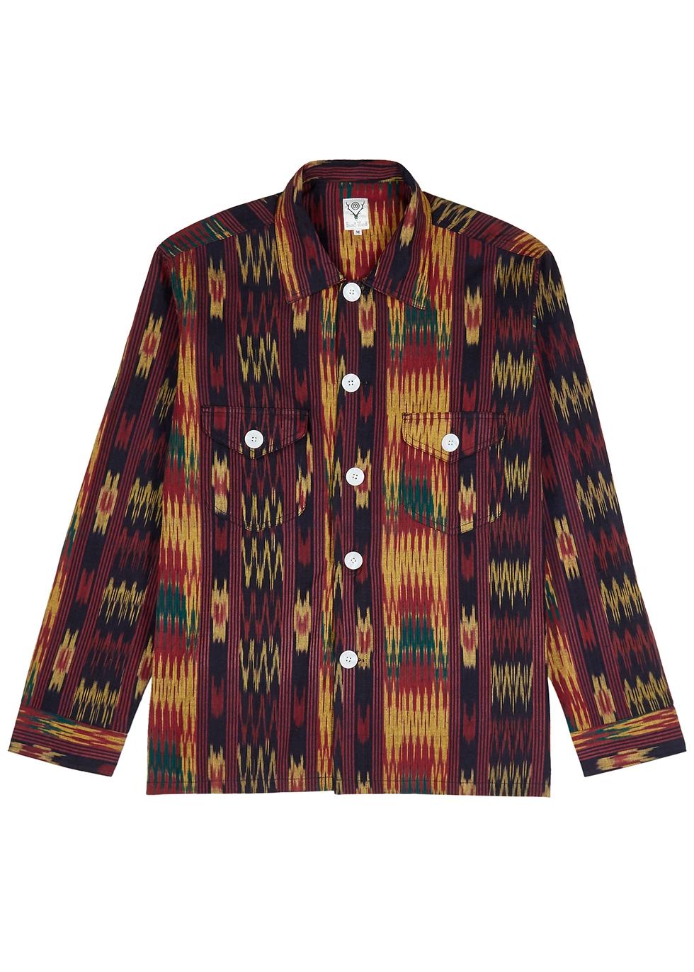 Smokey printed cotton shirt - South2 West8