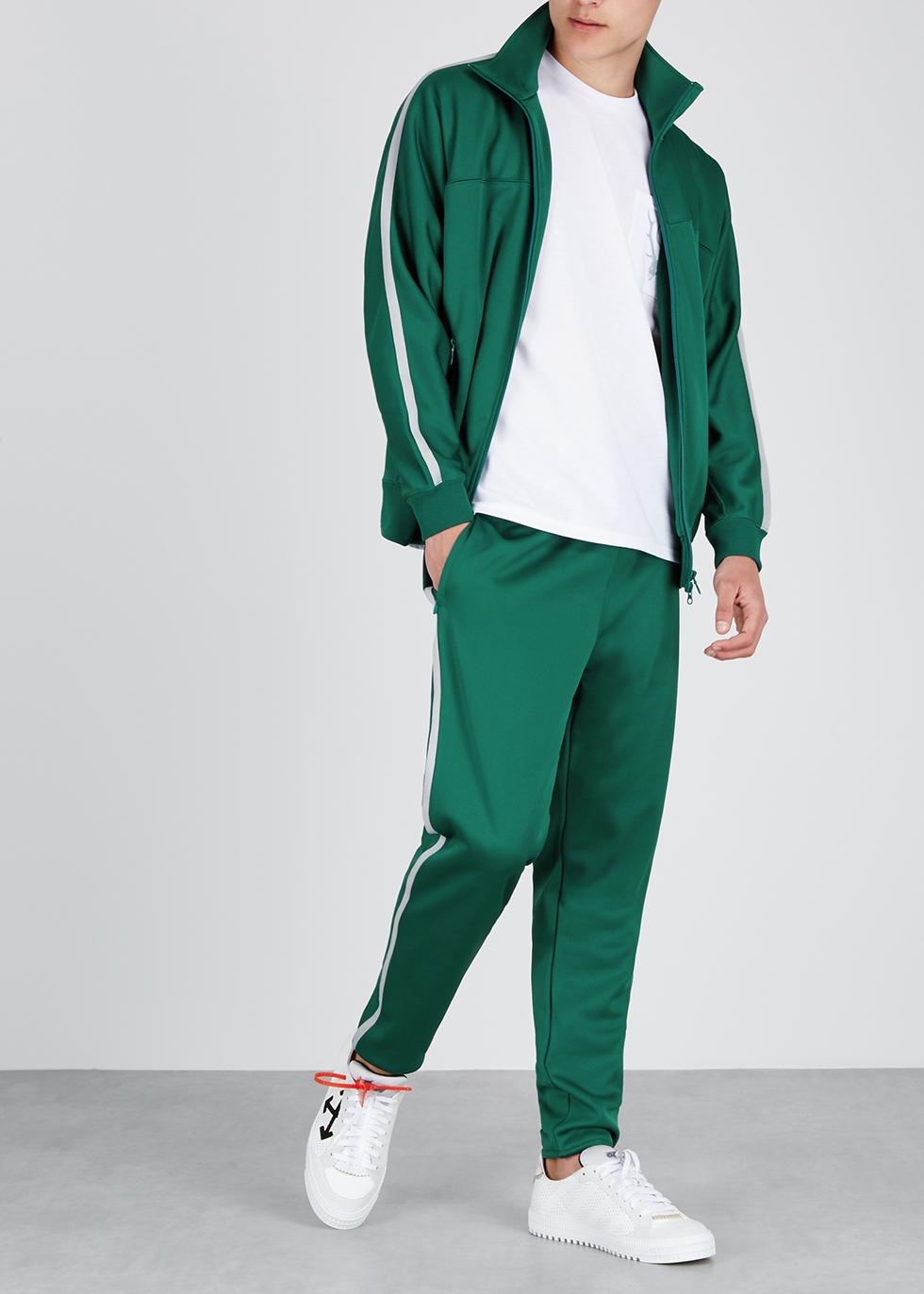 Trainer green jersey sweatshirt - South2 West8