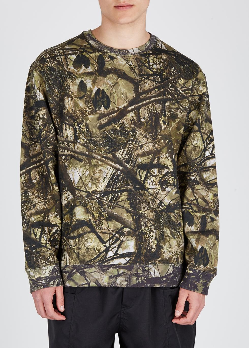 Printed cotton sweatshirt - South2 West8