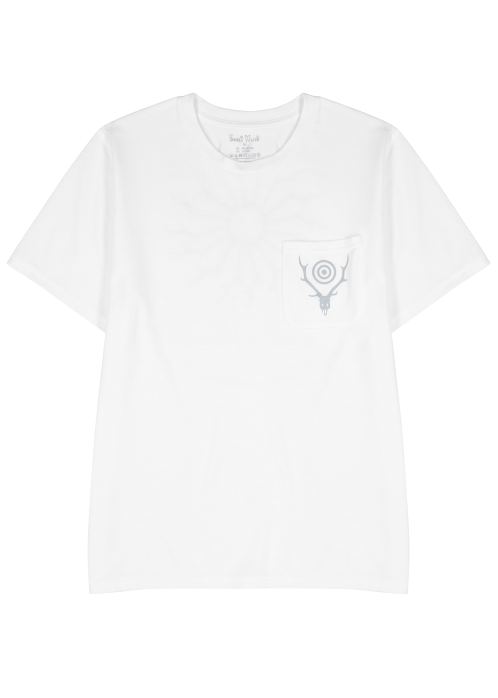 White jersey T-shirt - South2 West8