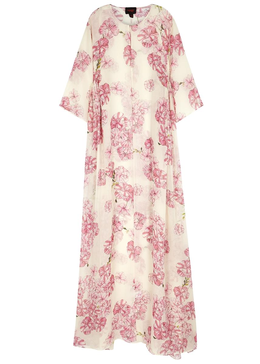 92c6d5c061a16 Floral-print silk-chiffon maxi dress ...