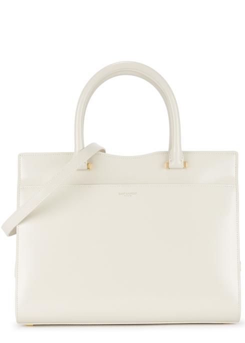 d1e34e50459c Saint Laurent Uptown medium leather top handle bag - Harvey Nichols