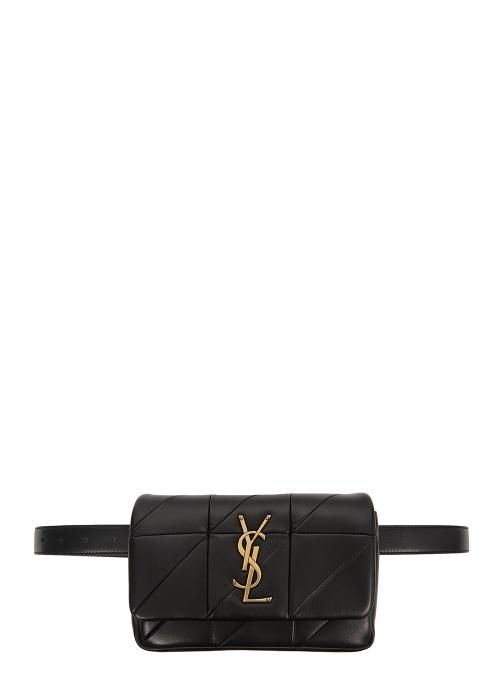 0234d81b6ebc Saint Laurent Jamie black leather belt bag - Harvey Nichols