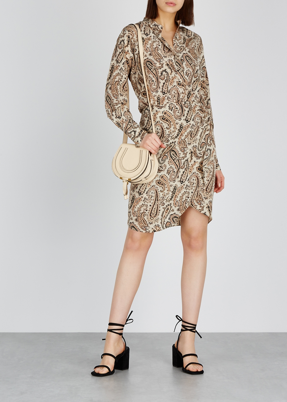 Leora paisley-print silk dress - Nili Lotan