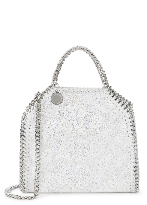 ef7af0863415 Stella McCartney Falabella tiny holographic shoulder bag - Harvey ...