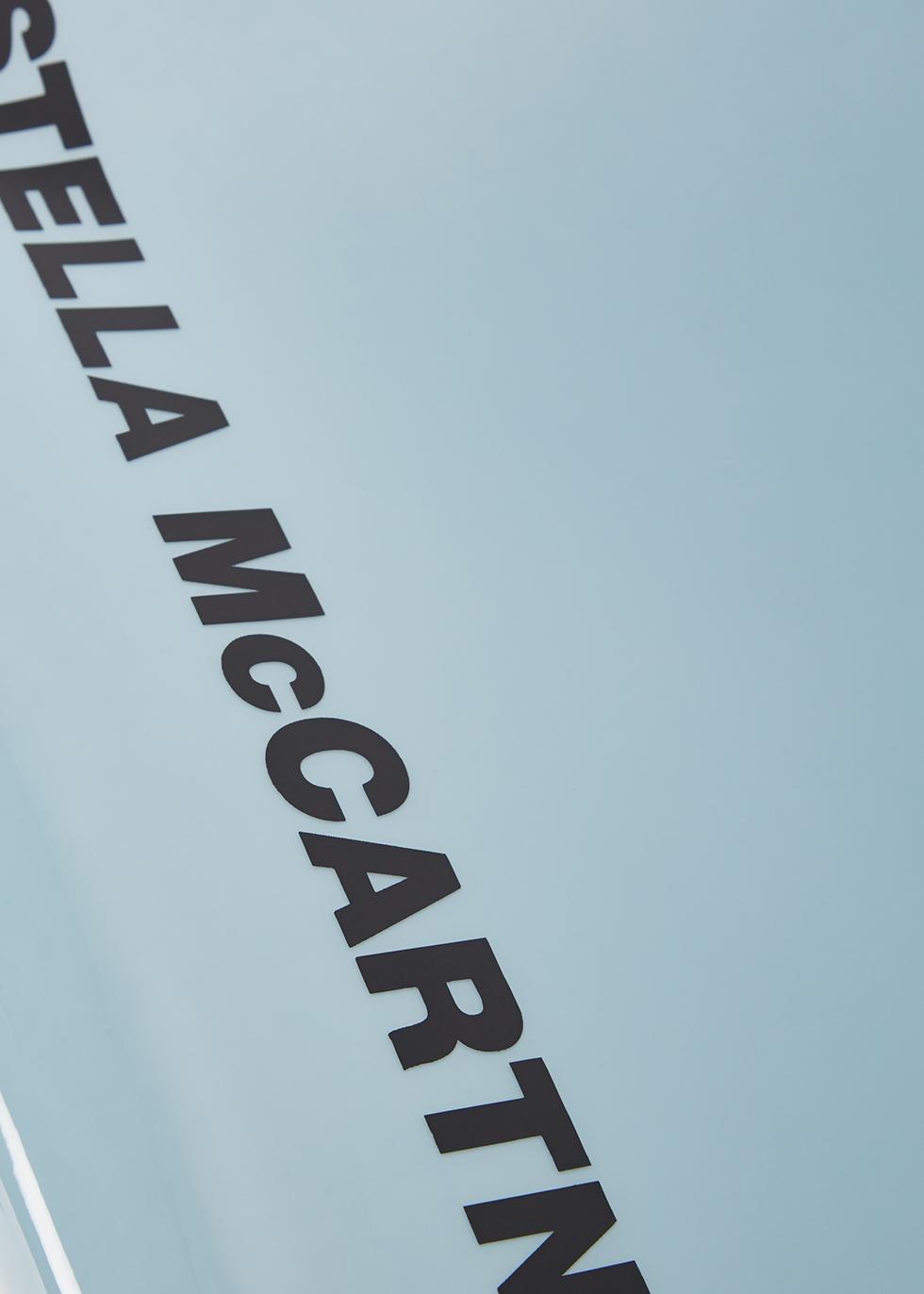 Small grey eco logo tote - Stella McCartney