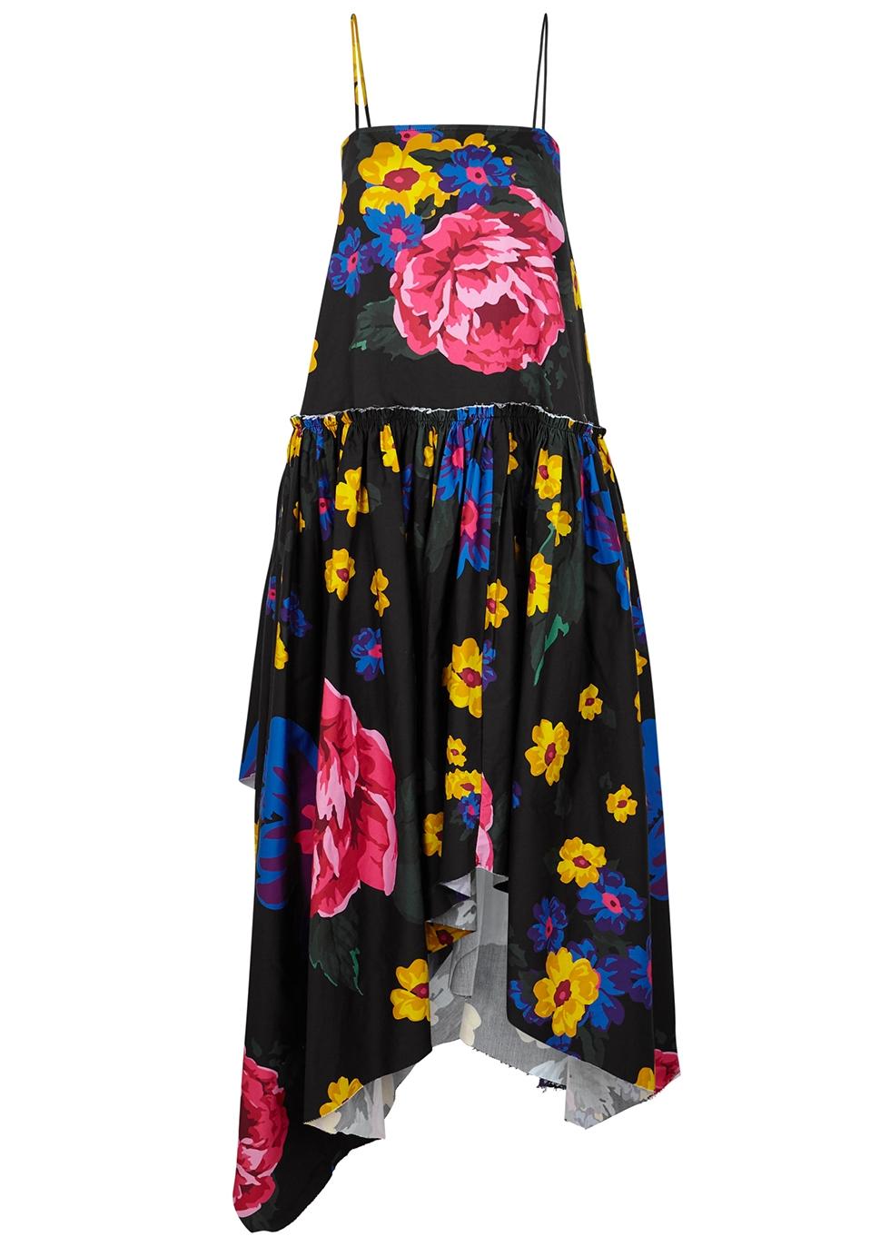 Black cotton dress - Marques' Almeida
