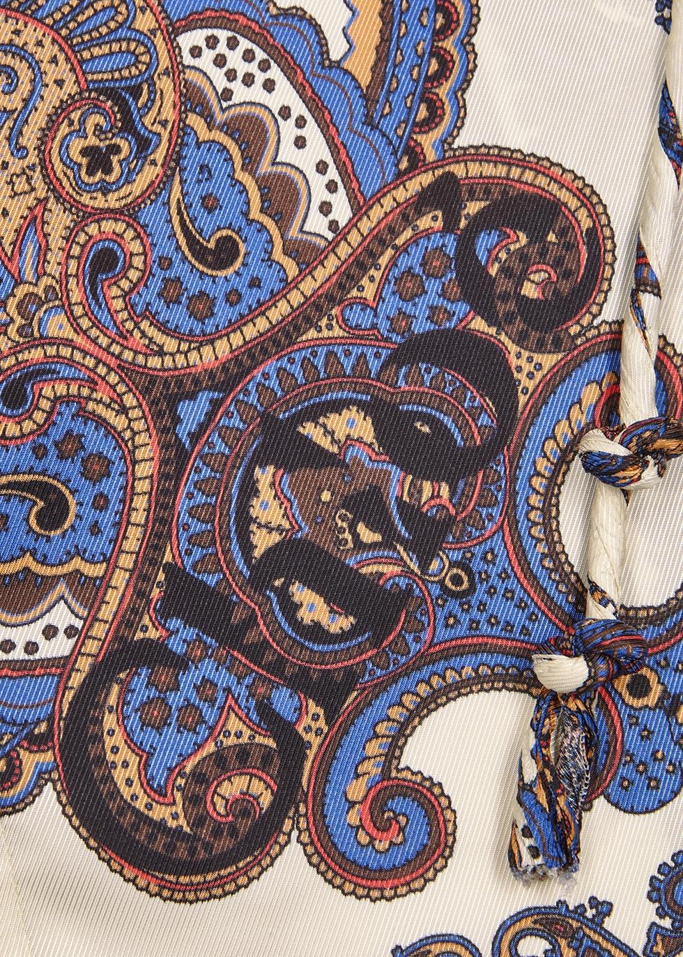 Printed satin-twill blouse - Chloé