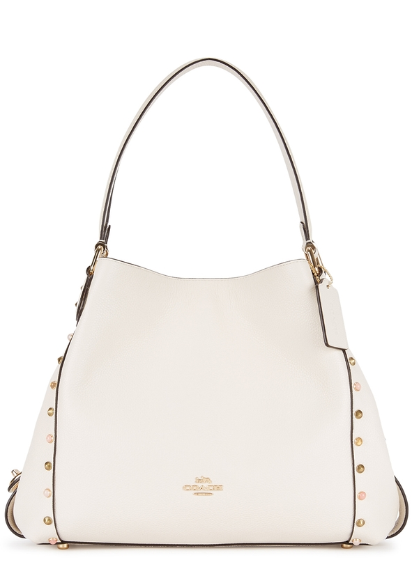 1a1f0a0bf91 Edie 31 studded leather shoulder bag ...