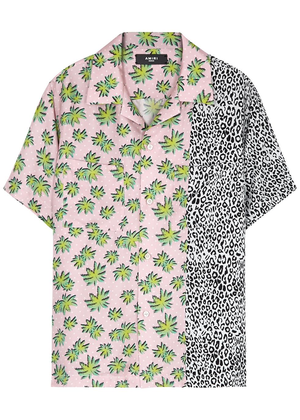 Purple Collarless Shirts Grandad Shirt sizes small to 2XL