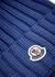 Blue pompom wool beanie - Moncler