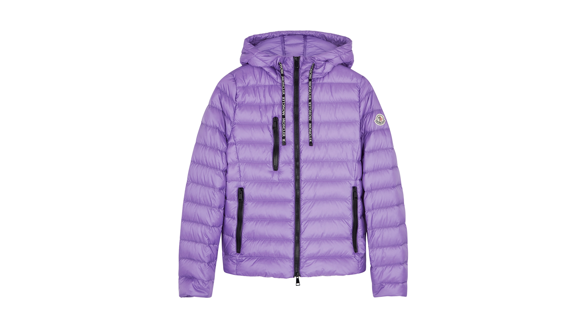 7ceaa3a2e Moncler Seoul lilac quilted shell jacket - Harvey Nichols