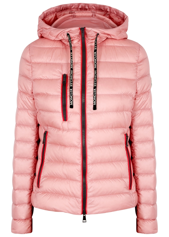 Seoul pink quilted shell jacket ... bce79f5ca300