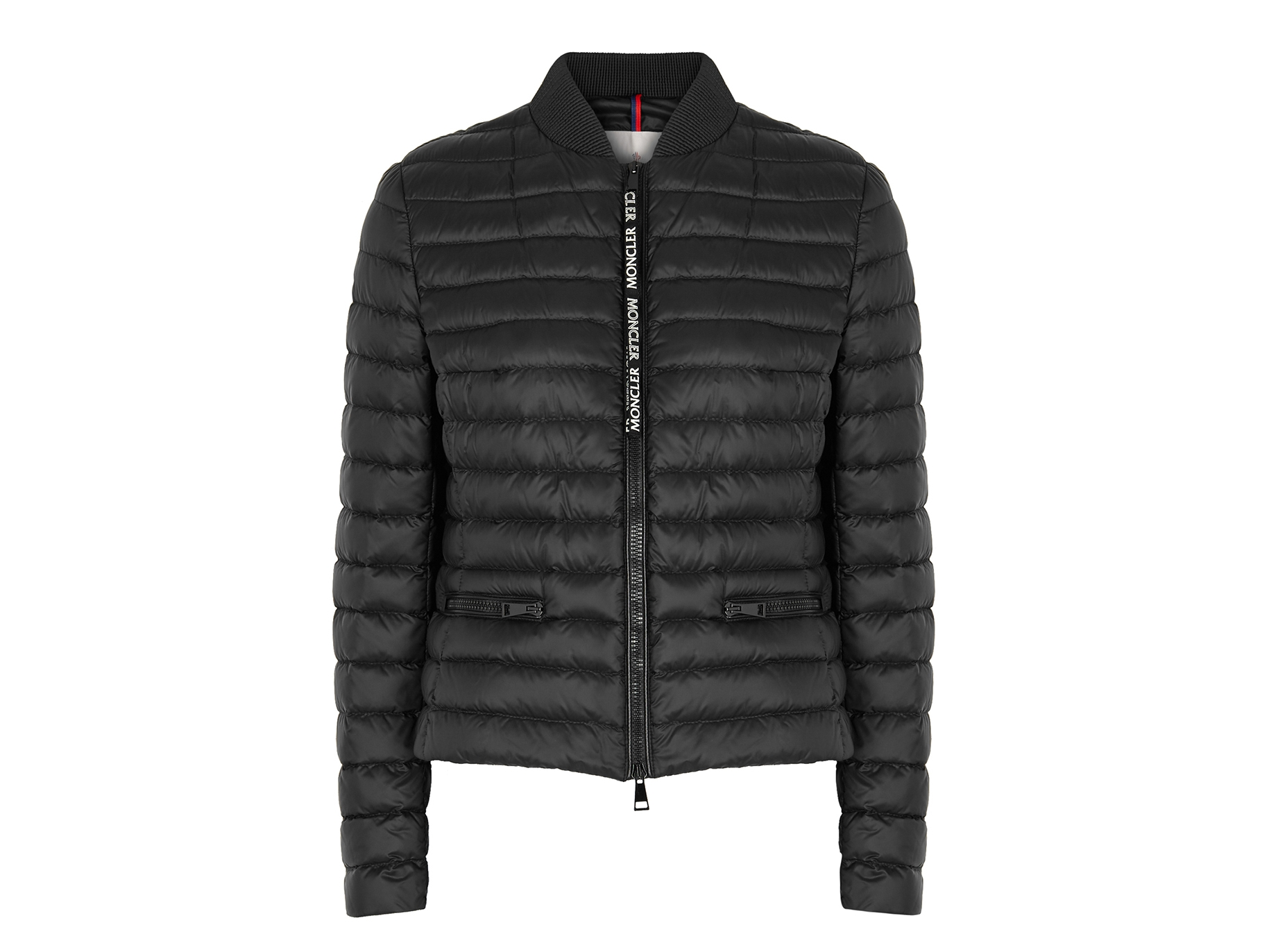 ed857d1d6 Moncler Blenca black quilted shell jacket - Harvey Nichols