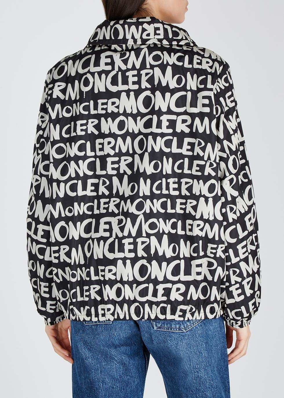Hanoi logo-print shell jacket - Moncler