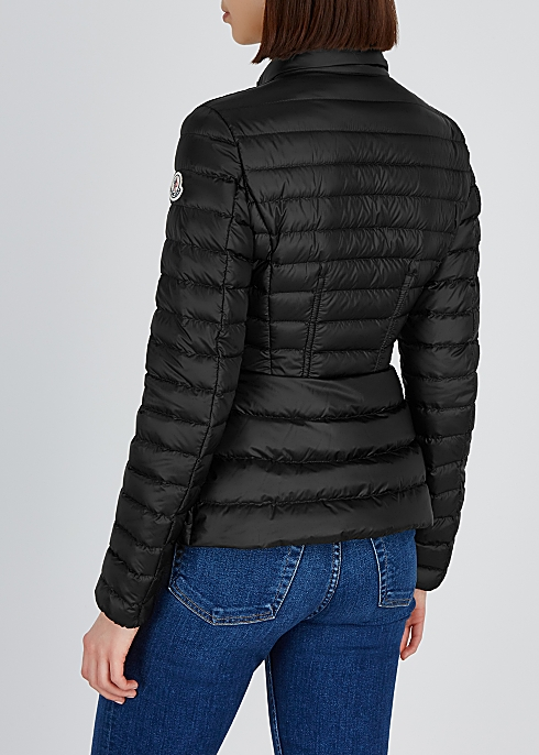 05ec27305 Moncler Agate black quilted shell jacket - Harvey Nichols