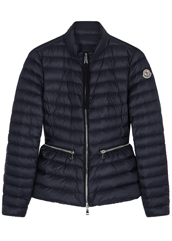 Agate navy quilted shell jacket ... af513958f