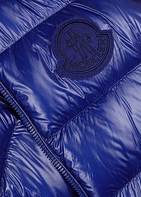 128109aac Moncler Helsinki blue shell gilet - Harvey Nichols