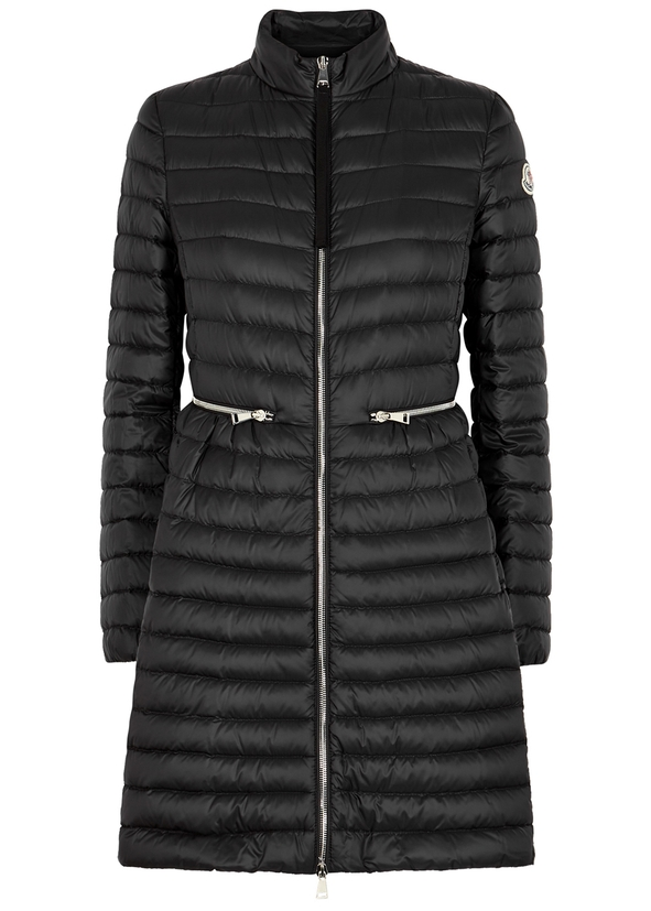 6a81dfcec51 Agatelon black quilted shell coat ...